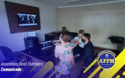 Assembleia Geral Eletrônica – Comunicado